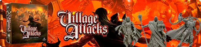 village attacks juego de mesa